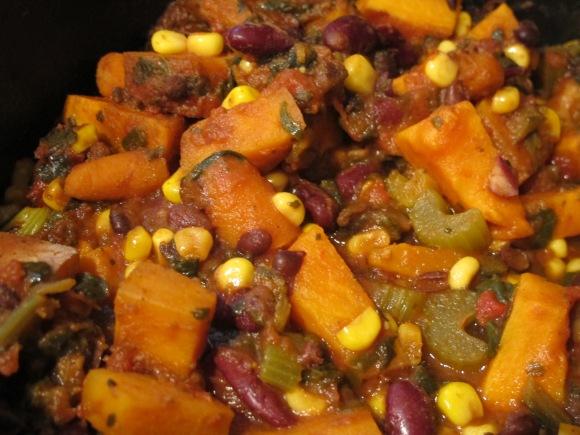 Winter Vegetarian BeanChili